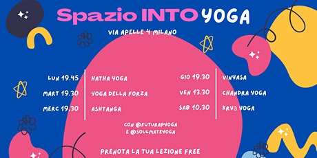 Kriya yoga masterclass biglietti