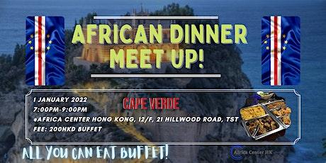 African Dinner Meetup (Cape Verde Cuisine) tickets