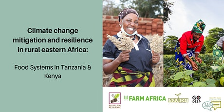 ONLINE: Climate change mitigation and resilience in rural eastern Africa tickets