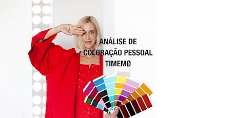 Dia de Análise de Coloração Pessoal  - 30.10 ingressos