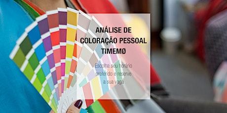 Dia de Análise de Coloração Pessoal  - 02.11 ingressos
