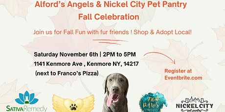 Alford's Angels & Nicel City Pet Pantry FALL CELEBRATION tickets