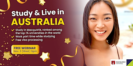 Study, work, and live in Australia this 2022! tickets