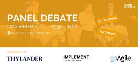 Panel Debate tickets