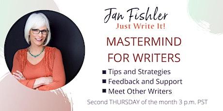 Mastermind for Writers : second Thursday of the month on Zoom tickets
