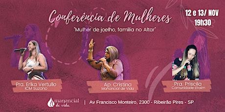 Conferência de Mulheres  | 12 e 13 de Novembro às 19h30 ingressos