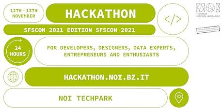 NOI Hackathon SFScon Edition biglietti