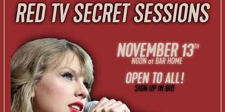 Red (Taylor's Version) Secret Sessions tickets