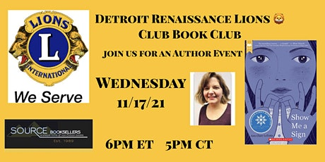 Show Me A Sign  Author Event tickets