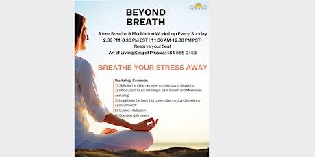 Free Online Breath & Meditation Workshop tickets