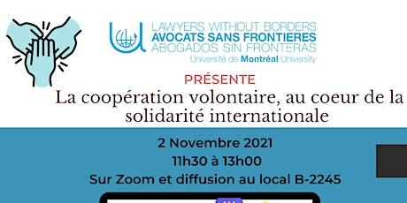 ASF UdeM présente: La coopération volontaire billets