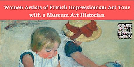 Online Women Artists French Impressionism Art Tour tickets