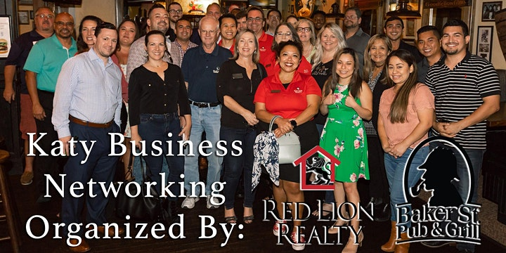 Katy Business Networking Monthly Mixer image
