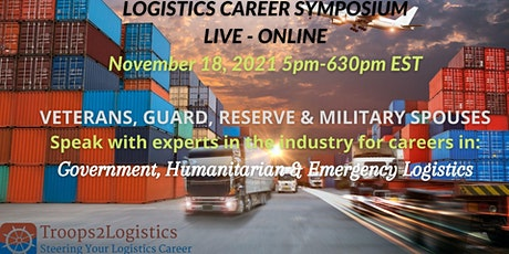 Logistics Career Event (Government, Humanitarian & Emergency) tickets