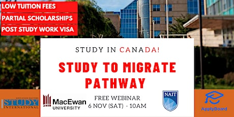 Study to immigrate pathway with MacEwan University & NAIT! tickets