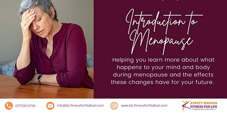 Introduction to Menopause Workshop - helping you make sense of the chaos... tickets