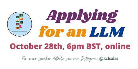 Applying for an LLM Panel tickets