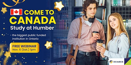 Study in Humber College Canada – No IELTS Required tickets