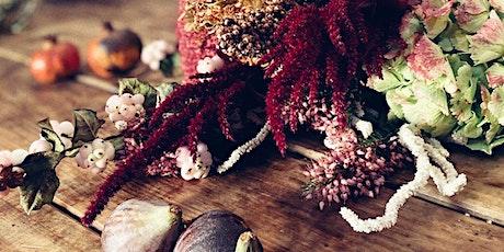 "Taller floral: ""Flowers, fruits & berries"" entradas"