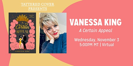 Live Stream with Vanessa King - A Certain Appeal tickets