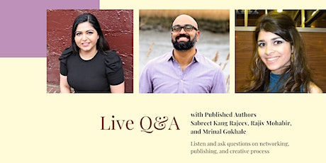 Q&A with Published Authors tickets
