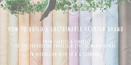 How To Build A Sustainable Brand tickets