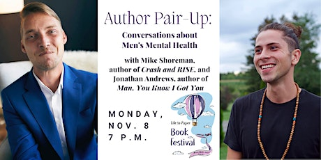 Author Pair-Up: In Conversation about Men's Mental Health tickets