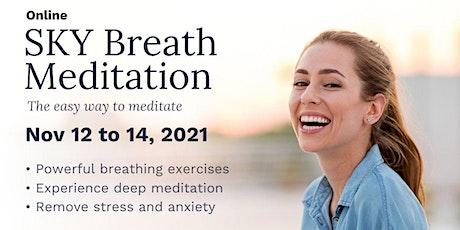 SKY Breath Meditation workshop tickets