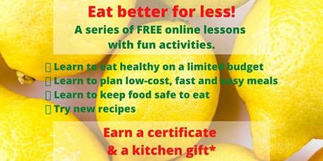 Eat Better For Less tickets