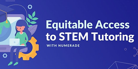 11/3 Webinar: Numerade for Accelerating STEM Learning tickets