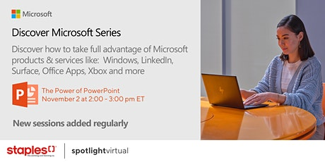 Discover Microsoft Series - The Power of PowerPoint tickets