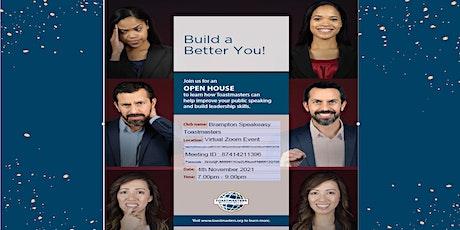 Annual Open House Brampton Speakeasy tickets