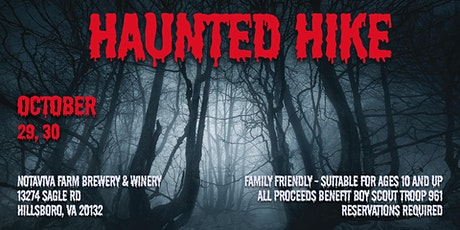 Haunted Hike 2021 tickets