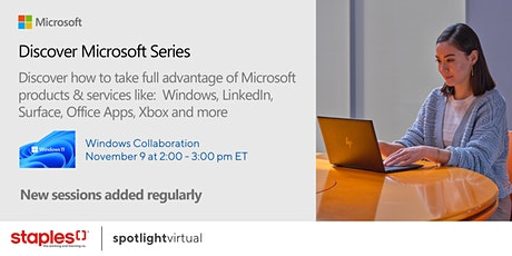 Discover Microsoft Series - Windows Collaboration tickets