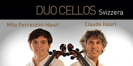 DUO CELLOS (Svizzera) - Claude Hauri e Milo Ferrazzini-Hauri biglietti