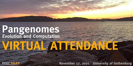 Virtual attendance only: Pangenomes — Evolution and Computation (PGEC 2021) tickets