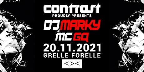 CONTRAST presents DJ MARKY & MC GQ | 18+ tickets