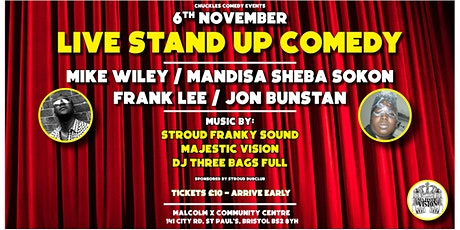 CHUCKLES COMEDY LIMITED EARLY BIRD TICKETS tickets