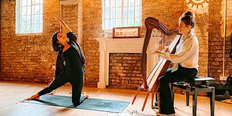 Yoga & Harp at the Yard tickets