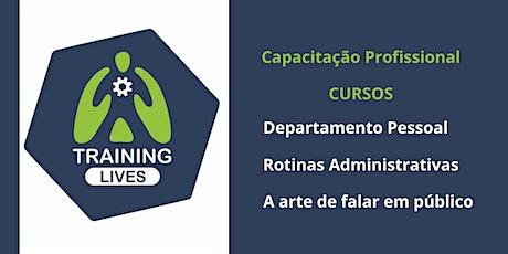 Training Lives - Treinamentos de Capacitação Profissional ingressos