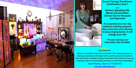 Sound Healing Therapy Certification Intensive Training tickets