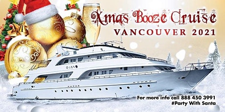 Christmas Booze Cruise Vancouver 2021 | Party with Santa tickets