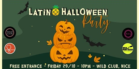 Halloween Latin Party billets