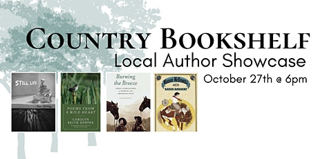 Country Bookshelf Presents: Local Author Showcase tickets