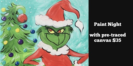 Grinch Paint Night in Parma tickets