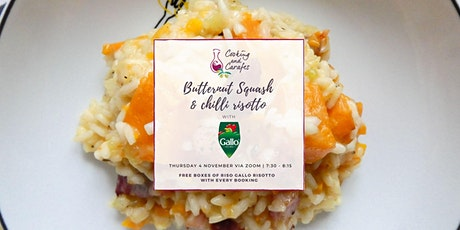 Butternut Squash Risotto with Riso Gallo Cooking Class tickets