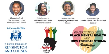 Online Event: Making time for Black mental Health |  Panel of speakers tickets