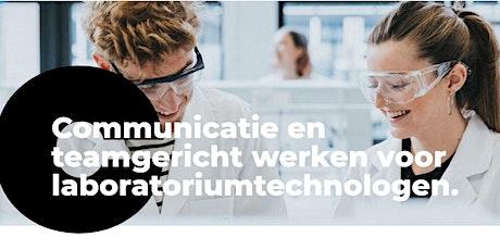 Communicatie en teamgericht werken voor laboratoriumtechnologen. Najaar 21 tickets
