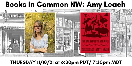 Books in Common NW: Amy Leach tickets