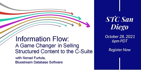 Information Flow: Game Changer in Selling Structured Content to the C-Suite tickets
